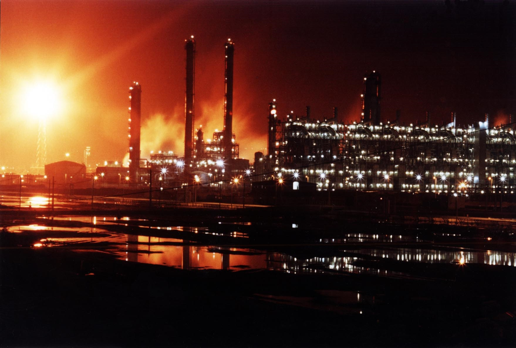 Oil, Gas and Petrochemical industries